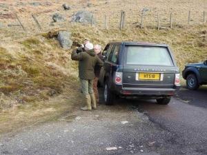 inizio della caccia al cervo in Scozia Montefeltro viaggi di caccia