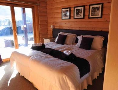 caccia al cervo in scozia lodge camera da letto