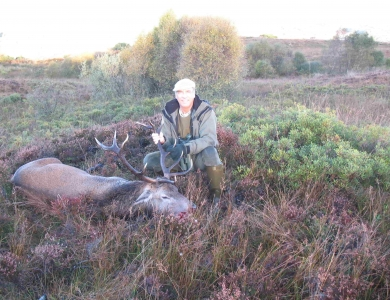 caccia al cervo rosso in scozia Luca Bogarelli ph Montefeltro