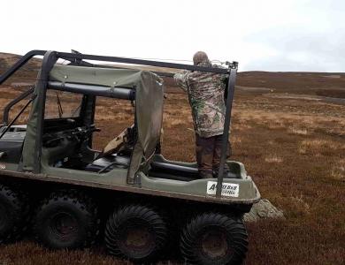staliking caccia alla cerca caccia al cervo in Scozia Montefeltro