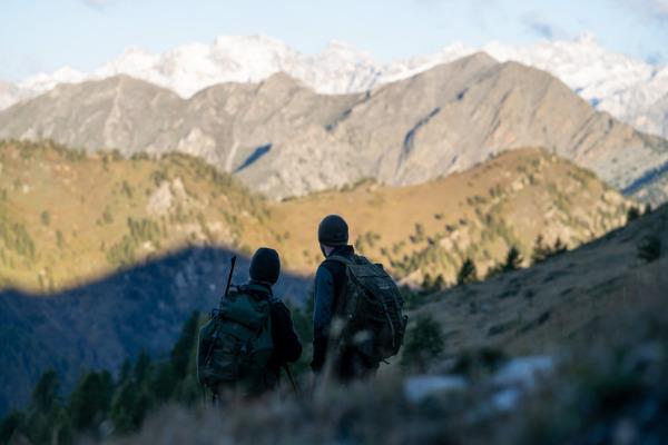 week end in montagna caccia al camoscio