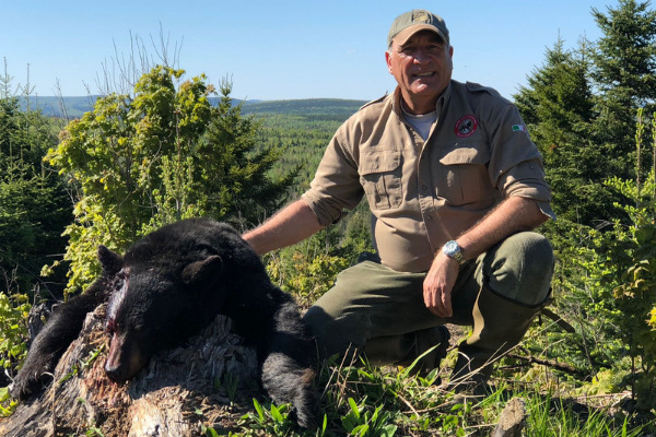viaggio di caccia all'orso con luca