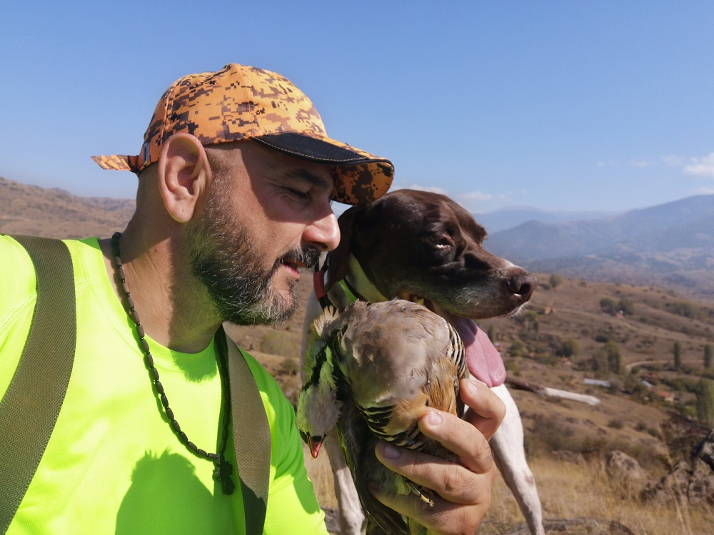 caccia in macedonia hunting in macedonia with dogs