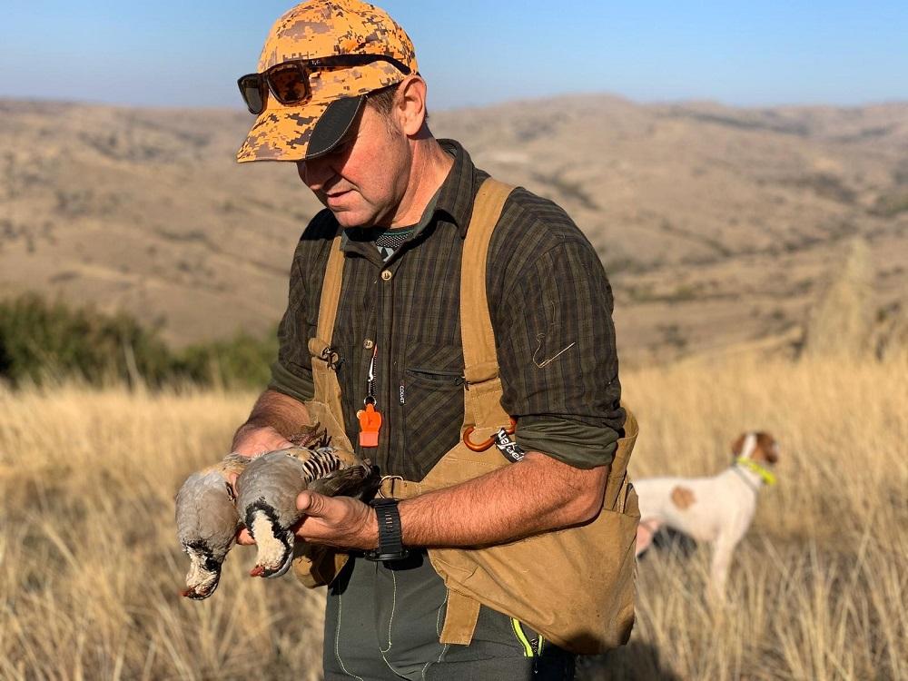 partridge hunt in macedoniacaccia in macedonia