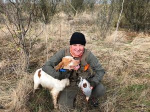 caccia di starne in macedonia